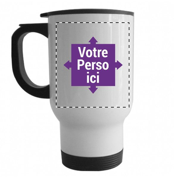 Mug isotherme personnalis exp dition sous 24h boutique for Thermos caffe
