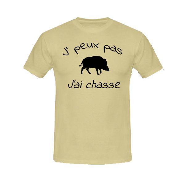 T J'ai Exp Boutique Shirt J'peux Pas 24h Swaagshirt Chasse HZxP6WUH