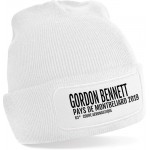 Bonnet slogan - Gordon Bennett