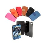 Etui portefeuille iphone 5S personnalisé avec photo