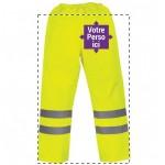 Pantalon haute visibilité imperméable
