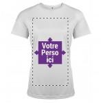 T-shirt de sport femme personnalisé