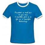 T-shirt facebook ne rend pas les gens cons