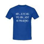 T-shirt humoristique je ne suis pas fou