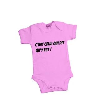 Body bébé c'est celui qui dit qu'y est