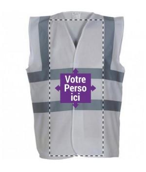 Gilet de sécurité personnalisé - Gilet fluo personnalisé