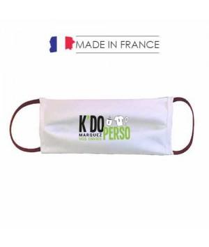 Masque barrière personnalisé AFNOR SPEC S76-001 Made in France