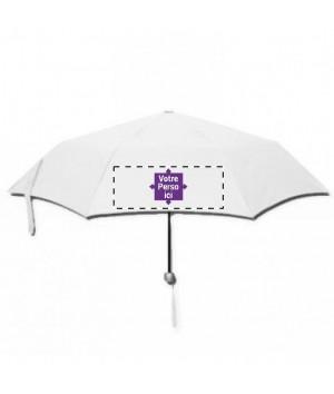 Parapluie de poche imprimé sur 4 faces