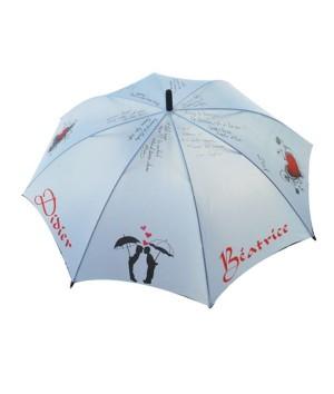 Parapluie des mariés