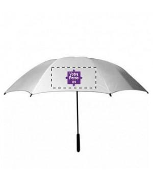 Parapluie personnalisé grand modèle 2 faces