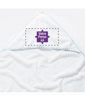 Sortie de bain personnalisée bébé