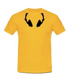 T-shirt casque audio