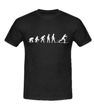 T-shirt evolution ski de fond