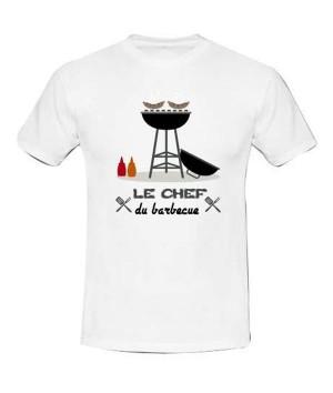 T-shirt humoristique barbecue