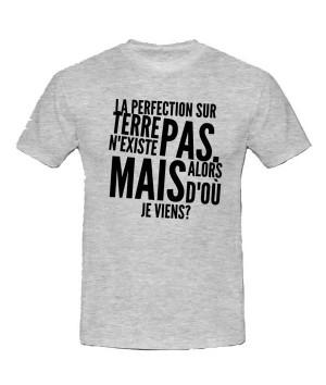 T-shirt humour personnalisé - Expédition