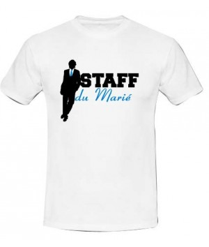 T-shirt staff du marié