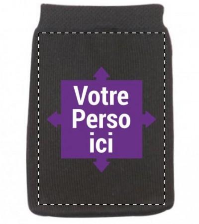 Chaussette téléphone portable noire
