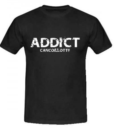 T-shirt Addict cancoillotte personnalisé