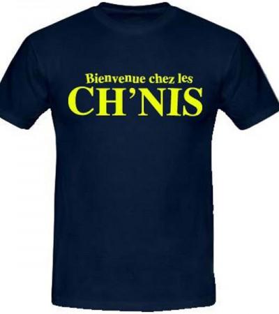 T-shirt bienvenue chez les ch'nis