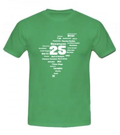 T-shirt Franche-comté personnalisé
