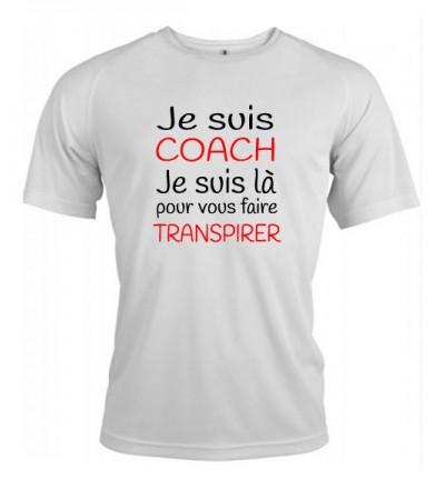 T-shirt je suis Coach