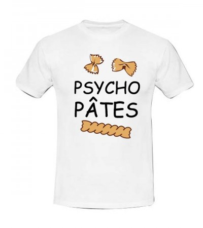 T-shirt psycho pâtes